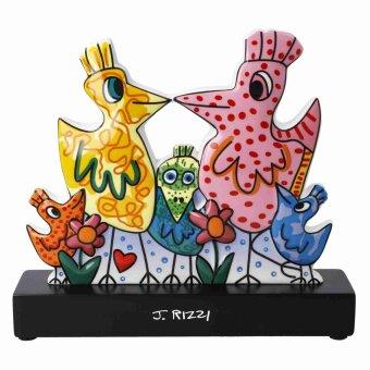 James Rizzi P Our colorful family Figur PopArt Kunstfigur...