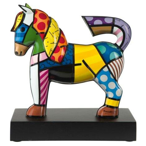 Romero Britto Pferd Dancer Figur