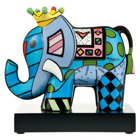 Romero Britto Elefant Miami Pop Art Porzellan Figur Great India 3
