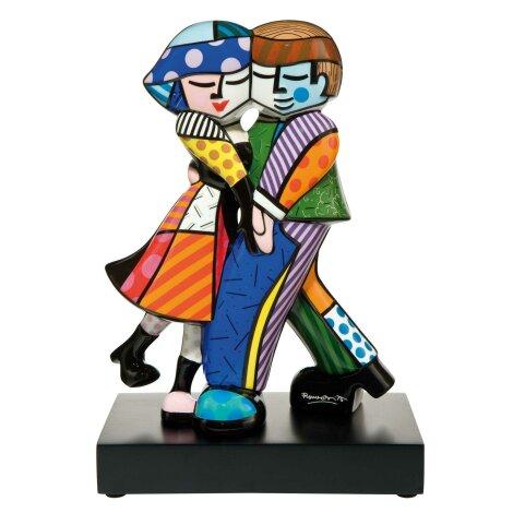 Romero Britto Cheek to Cheek Figur Pop Art Skulptur Goebel 66452061