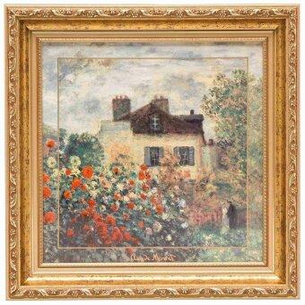 Claude Monet Das Künstlerhaus Wand-Bild 31.5 cm...