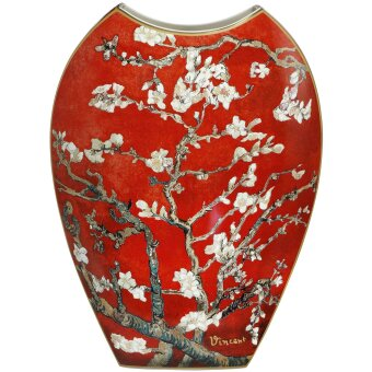 Vincent van Gogh Vase Mandelbaum Rot 45 cm