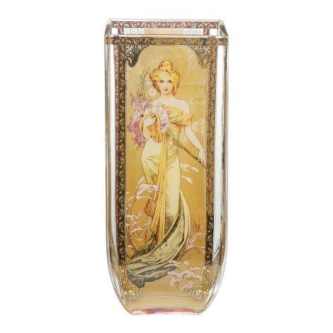 Alphonse Mucha Die vier Jahreszeiten Vase Vier feenhaft schöne Frauen