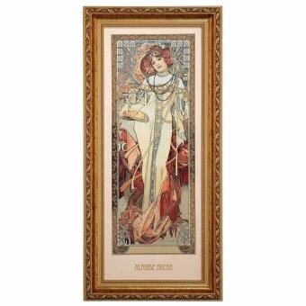 Alphonse Mucha Herbst 1900 Wandbild Die vier Jahreszeiten...