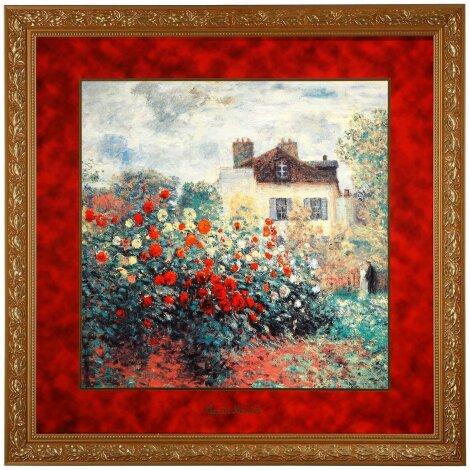 Claude Monet Das Künstlerhaus Wand-Bild Limitiert Zertifikat