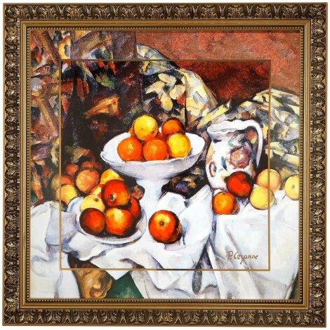 Paul Cezanne Stillleben I Wandbild Zertifikat Limitiert Porzellan