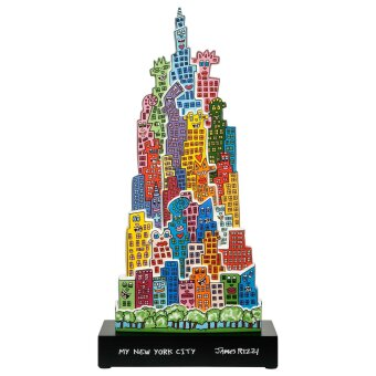 James Rizzi The City that Never Sleeps Figur 2020