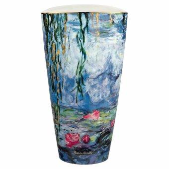 Claude Monet Vase Seerosen mit Weide 28 cm 2020