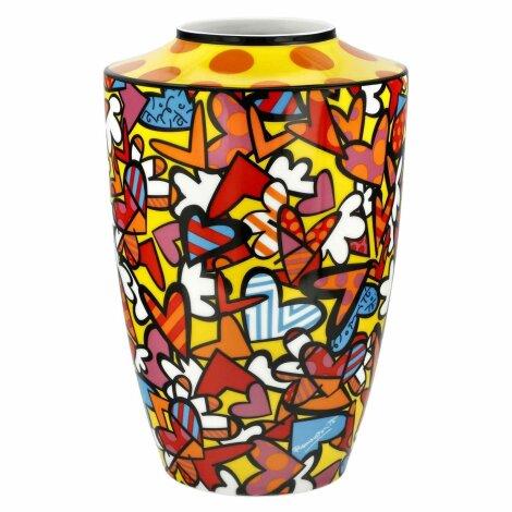 Romero Britto Vase All We Need is Love 2020 24 cm