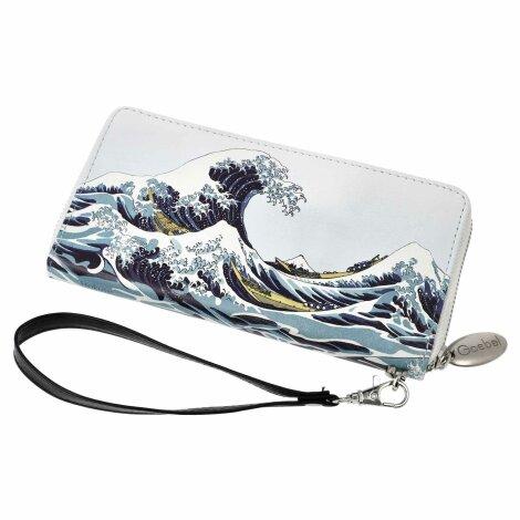 Katsushika Hokusai Damen Künstler Geldbörse Die Welle