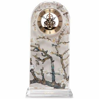 Vincent van Gogh Uhr Tischuhr Mandelbaum Silber